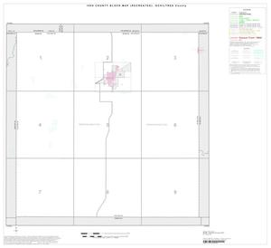 Primary view of object titled '1990 Census County Block Map (Recreated): Ochiltree County, Index'.