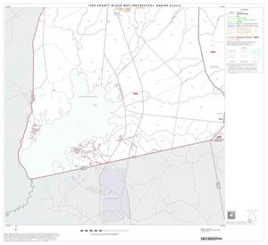Primary view of object titled '1990 Census County Block Map (Recreated): Sabine County, Block 9'.