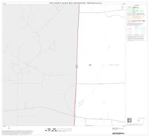 Primary view of 1990 Census County Block Map (Recreated): Denton County, Block 17