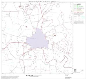 Primary view of object titled '1990 Census County Block Map (Recreated): DeWitt County, Block 11'.