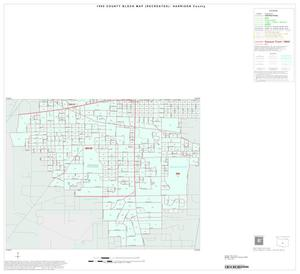 Primary view of object titled '1990 Census County Block Map (Recreated): Harrison County, Inset A03'.