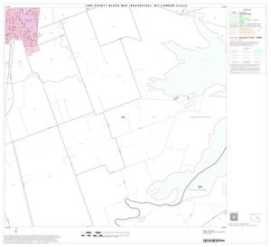 Primary view of object titled '1990 Census County Block Map (Recreated): Williamson County, Block 33'.