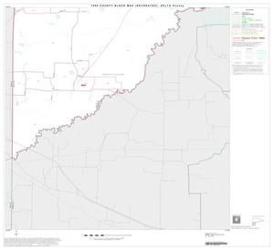 Primary view of object titled '1990 Census County Block Map (Recreated): Delta County, Block 9'.