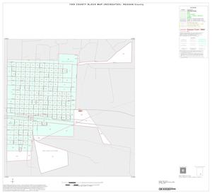 Primary view of object titled '1990 Census County Block Map (Recreated): Reagan County, Inset A01'.
