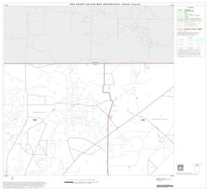 Primary view of object titled '1990 Census County Block Map (Recreated): Duval County, Block 2'.