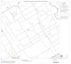 Primary view of object titled '1990 Census County Block Map (Recreated): Falls County, Block 15'.