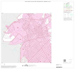 Primary view of object titled '1990 Census County Block Map (Recreated): Brown County, Inset D05'.