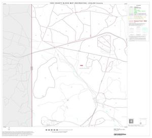 Primary view of object titled '1990 Census County Block Map (Recreated): Uvalde County, Block 16'.