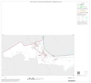 Primary view of object titled '1990 Census County Block Map (Recreated): Bosque County, Inset C01'.