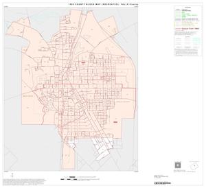 Primary view of object titled '1990 Census County Block Map (Recreated): Falls County, Inset A01'.