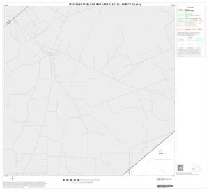 Primary view of object titled '1990 Census County Block Map (Recreated): DeWitt County, Block 8'.