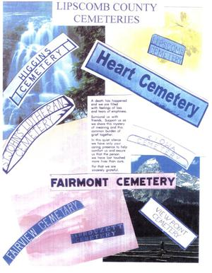 Primary view of object titled 'Lipscomb County Cemeteries'.