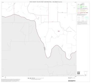 Primary view of object titled '1990 Census County Block Map (Recreated): Coleman County, Block 22'.