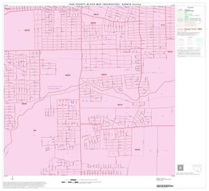 Primary view of object titled '1990 Census County Block Map (Recreated): Harris County, Block 182'.