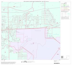 Primary view of object titled '1990 Census County Block Map (Recreated): Dallas County, Block 52'.