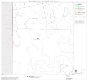 Primary view of object titled '1990 Census County Block Map (Recreated): Nolan County, Block 9'.