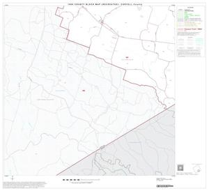 Primary view of object titled '1990 Census County Block Map (Recreated): Coryell County, Block 17'.