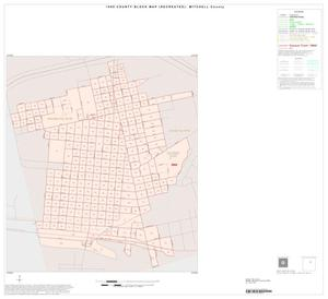 Primary view of object titled '1990 Census County Block Map (Recreated): Mitchell County, Inset B01'.