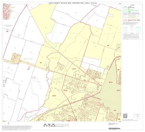 Primary view of object titled '1990 Census County Block Map (Recreated): Bell County, Block 16'.