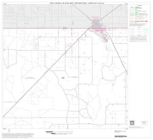 Primary view of object titled '1990 Census County Block Map (Recreated): Hartley County, Block 2'.