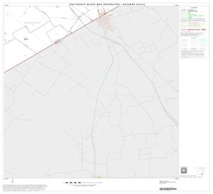 Primary view of object titled '1990 Census County Block Map (Recreated): Navarro County, Block 28'.