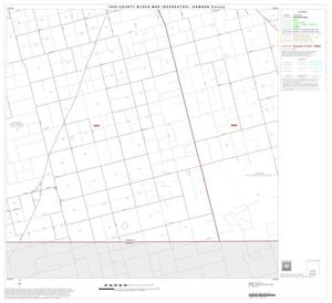 Primary view of object titled '1990 Census County Block Map (Recreated): Dawson County, Block 8'.