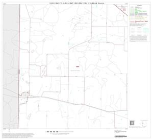 Primary view of object titled '1990 Census County Block Map (Recreated): Coleman County, Block 9'.