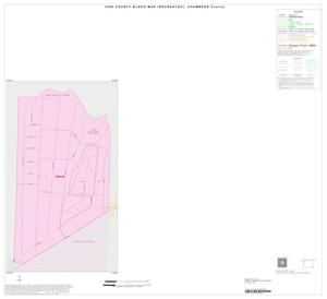 Primary view of object titled '1990 Census County Block Map (Recreated): Chambers County, Inset B01'.