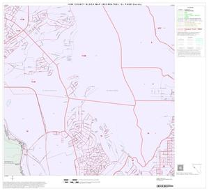 Primary view of object titled '1990 Census County Block Map (Recreated): El Paso County, Block 36'.