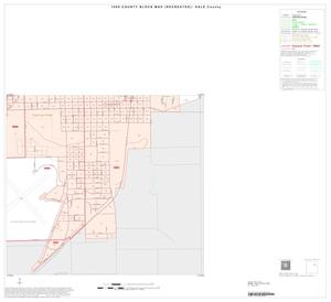 Primary view of object titled '1990 Census County Block Map (Recreated): Hale County, Inset A06'.