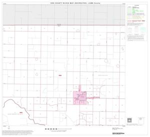 Primary view of object titled '1990 Census County Block Map (Recreated): Lamb County, Block 2'.