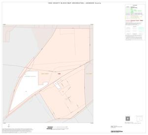 Primary view of object titled '1990 Census County Block Map (Recreated): Johnson County, Inset G01'.