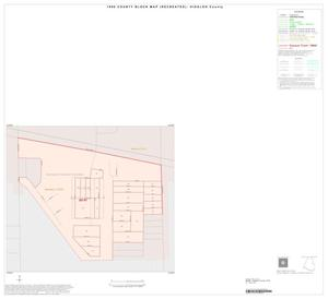 Primary view of object titled '1990 Census County Block Map (Recreated): Hidalgo County, Inset O01'.