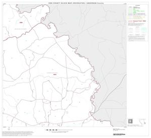 Primary view of object titled '1990 Census County Block Map (Recreated): Anderson County, Block 21'.
