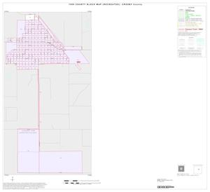 Primary view of object titled '1990 Census County Block Map (Recreated): Crosby County, Inset C01'.