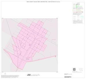Primary view of object titled '1990 Census County Block Map (Recreated): San Patricio County, Inset F01'.