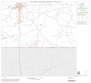 Primary view of object titled '1990 Census County Block Map (Recreated): Rusk County, Block 18'.