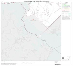 Primary view of object titled '1990 Census County Block Map (Recreated): Trinity County, Block 15'.