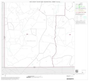 Primary view of object titled '1990 Census County Block Map (Recreated): Dimmit County, Block 9'.