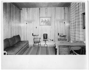 Primary view of object titled '[Pinehurst Stables - E.W. Brown's Office]'.