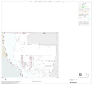 1990 Census County Block Map (Recreated): Cherokee County, Inset A01