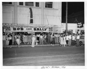 Primary view of object titled 'Bob and Sally Production at Royal Theater'.