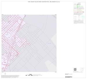 Primary view of object titled '1990 Census County Block Map (Recreated): McLennan County, Inset D04'.