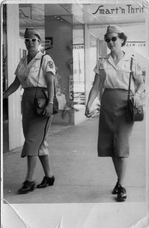 Primary view of object titled '[Meter Maids in Orange, Texas]'.