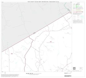 Primary view of object titled '1990 Census County Block Map (Recreated): Burleson County, Block 2'.