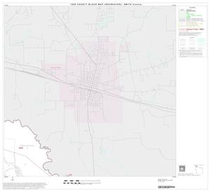 Primary view of object titled '1990 Census County Block Map (Recreated): Smith County, Block 2'.