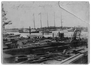 Primary view of object titled '[City of Orange, ship]'.