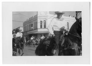 Primary view of object titled '[Parade in 1950s]'.