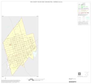 Primary view of object titled '1990 Census County Block Map (Recreated): Karnes County, Inset C01'.