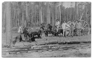 Primary view of object titled '[McBride's Crew in Louisiana]'.